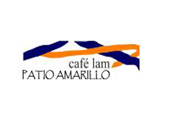 Cafe Lam. Patio Amarillo